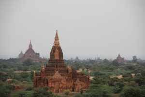 Yangon to Bagan by train