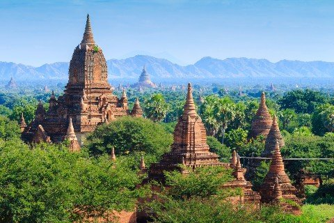 Bagan is Myanmar's number one tourist attraction