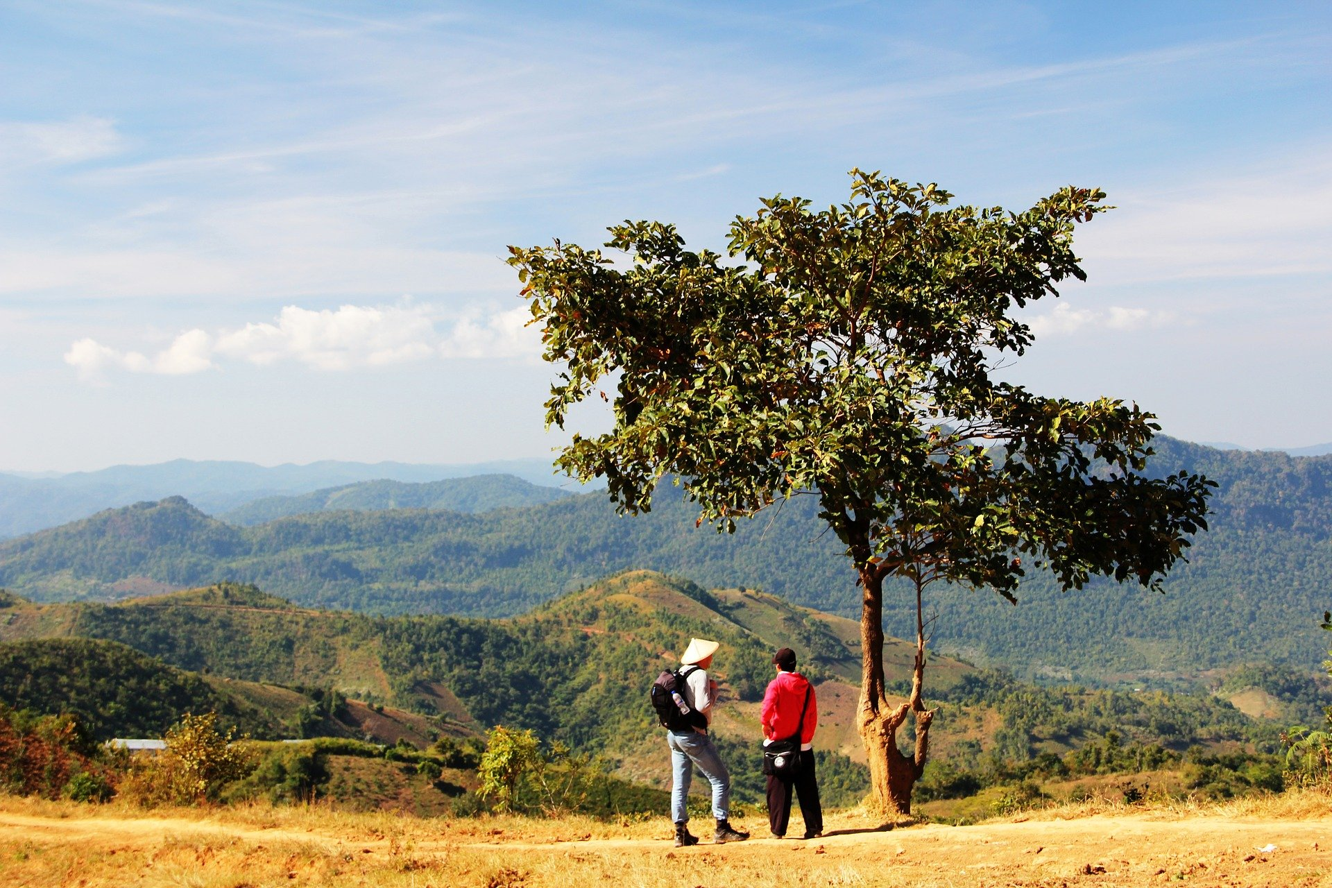 Trek from Kalaw to Inle Lake