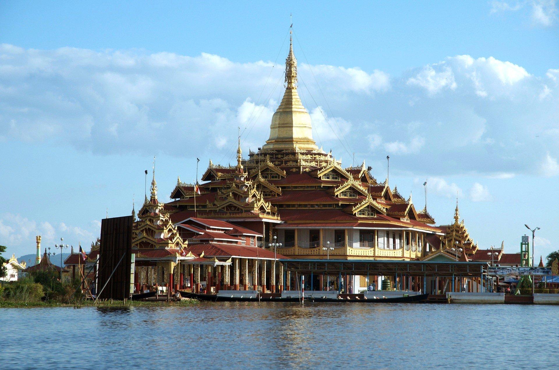Hpaung Daw U Pagoda near Inle Lake