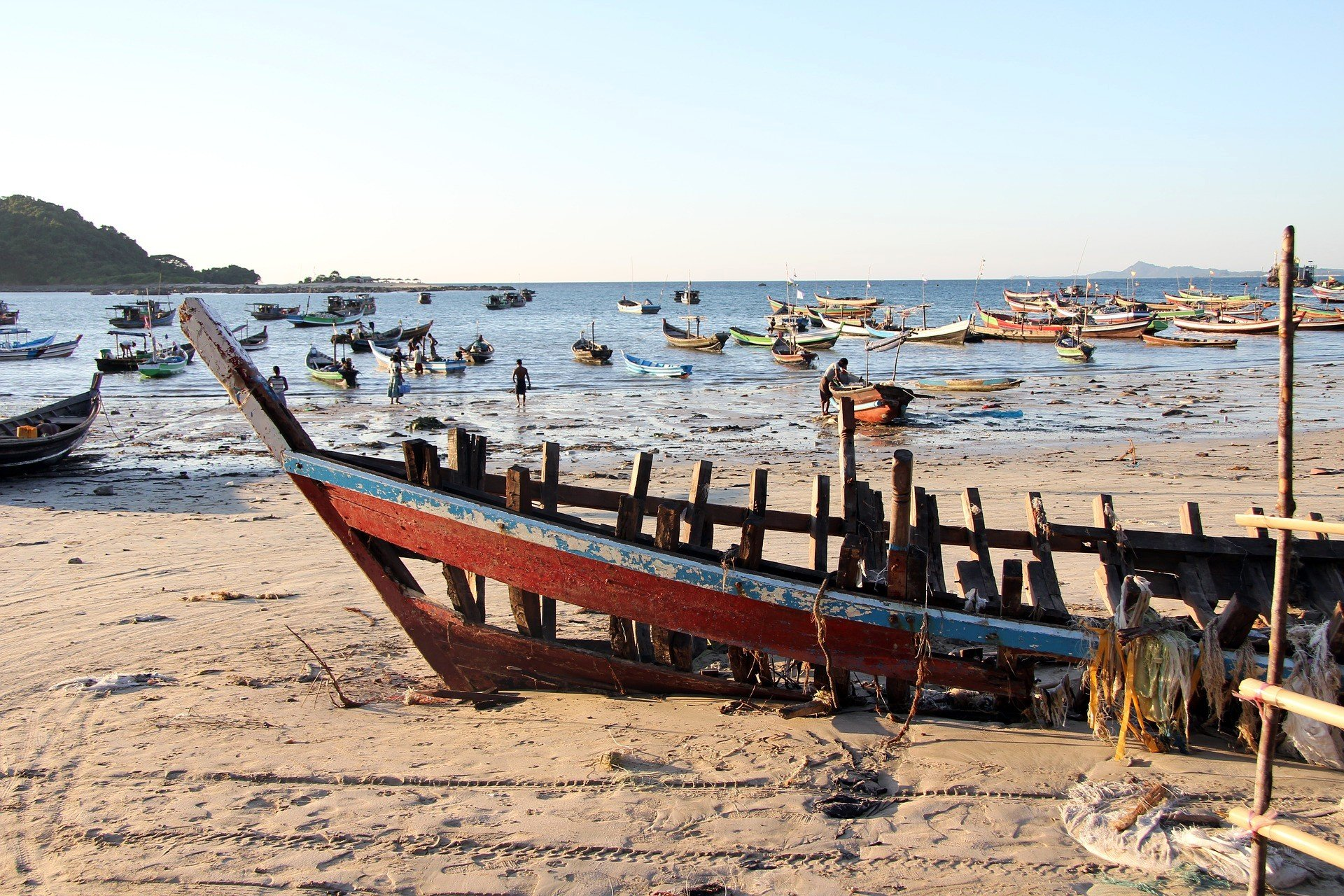 Dawei is close to the many beaches of the Tanintharyi Region